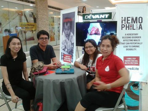 Some friends I met from the Haemophilia Association of the Philippines, Inc. (H.A.P.I.- Cebu)