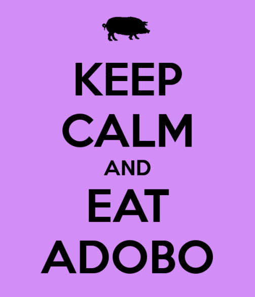Keep Calm Adobo